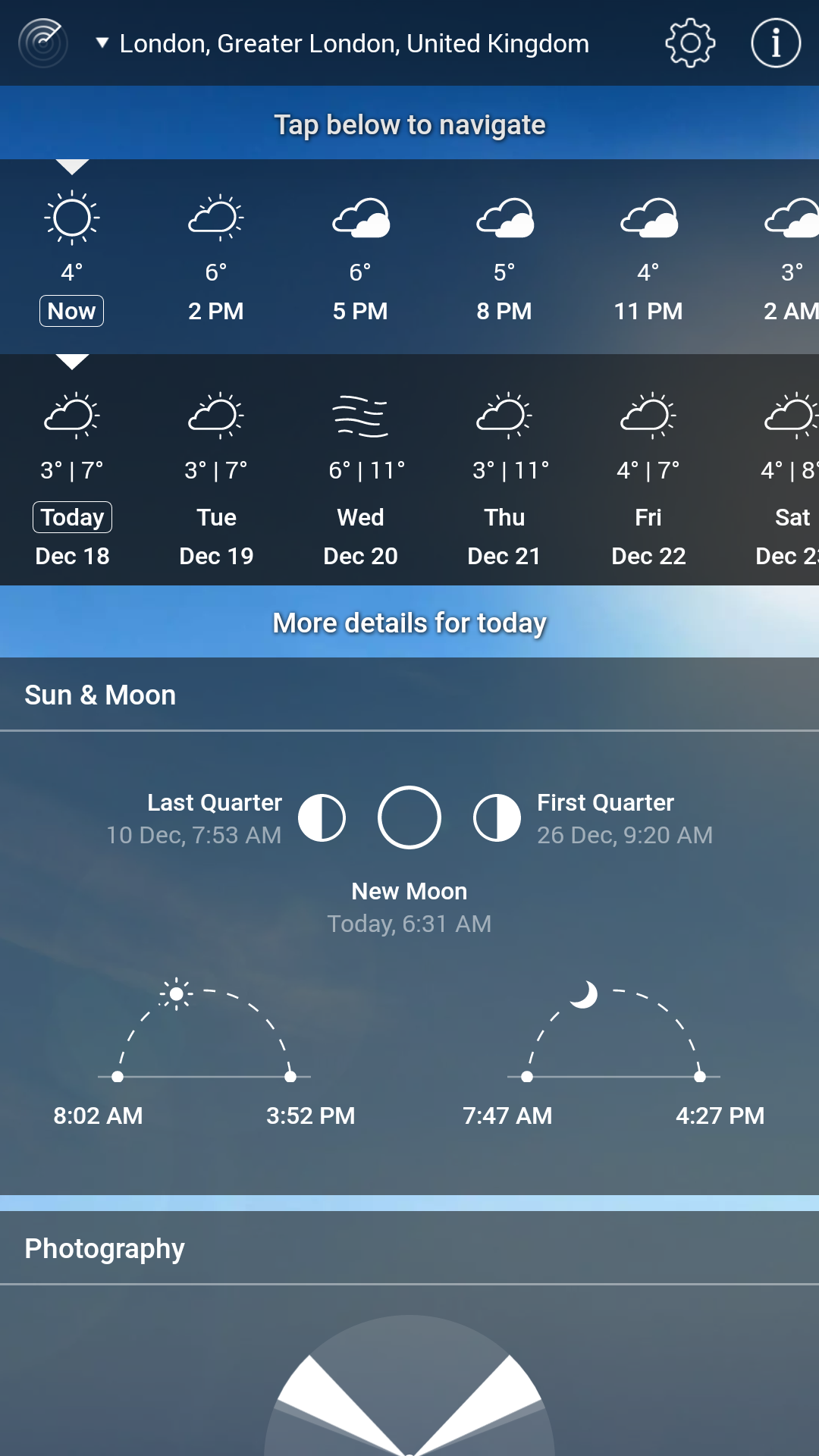 What extra parameters are in Weather Live and how to manage them