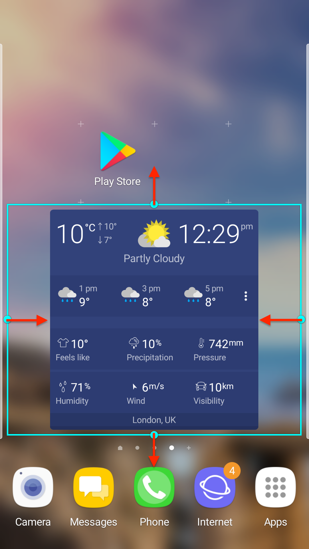 How To Resize Widget On Home Screen
